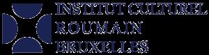 logo ICR Bruxelles FR albastru